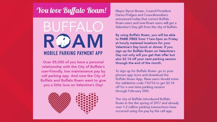 valentine's day parking 2020