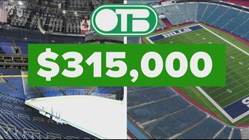 OTB spending big bucks at Bills and Sabres games