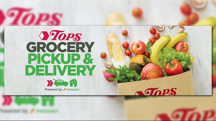 Tops announces grocery store pick-up/delivery service with