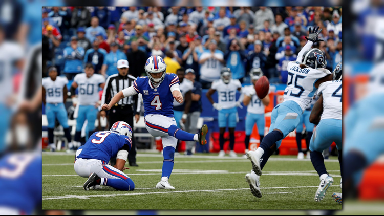 Josh Allen led the Bills on his first ever come behind, game-winning drive capped off by a Stephen Hauschka field goal as time expired.