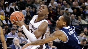 Bonnies crushed by St. Louis in season finale, 72-49