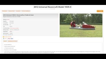 Cheektowaga sells its town hovercraft