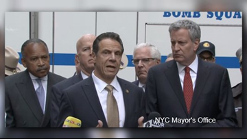 'Device' sent to Cuomo's office in Manhattan was false alarm