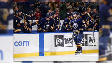 Sabres Win Third Straight, Beat Montreal 4-3