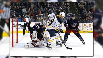 Sabres Win Streak Snapped in OT, Pick Up Road Point in Columbus