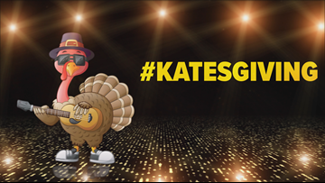 Surprise! Kate has her own holiday. Behold: #Katesgiving