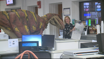 Kate tries to hire intern, lets velociraptor loose in newsroom