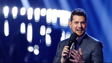 Michael Buble coming to Buffalo February 27