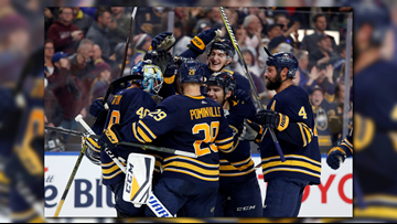 Sabres Win Seventh Straight, Beat Flyers 5-2