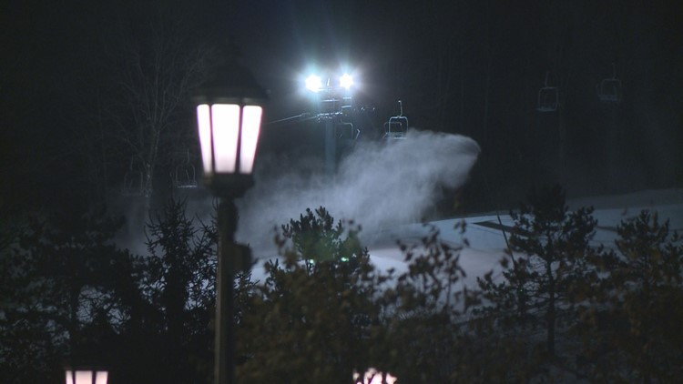 Snow-making underway at Holiday Valley