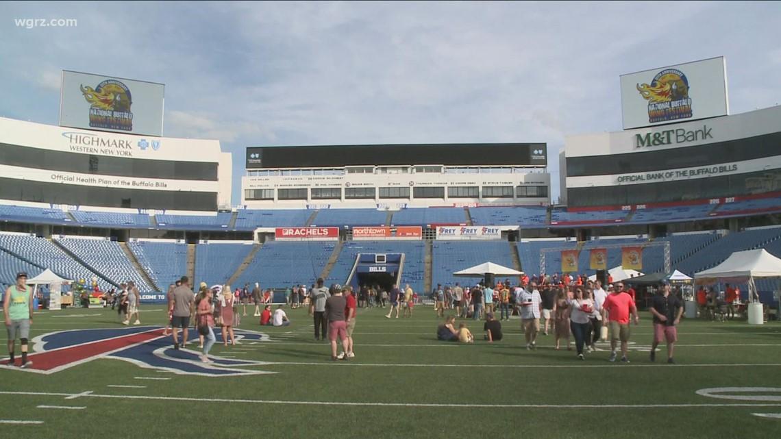 Wing Fest kicks off at Highmark Stadium