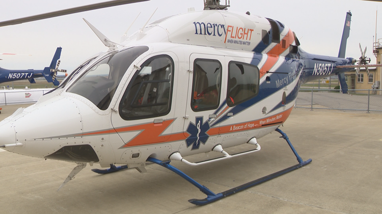 Mercy Flight gets three new helicopters