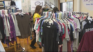 Kenmore West has a staff/student run thrift store