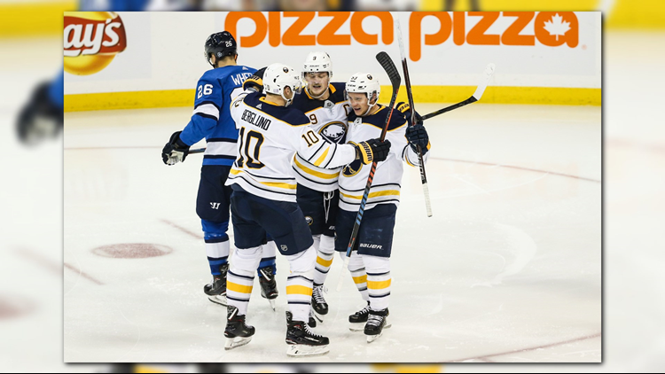 Sabres Win 4th Straight, Beat Jets in Shootout 2-1