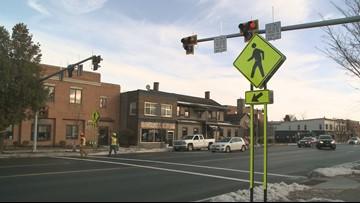 HAWK signal installed on Main Street in Williamsville