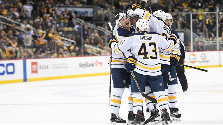 Eichel's OT winner lifts Sabres to sixth straight win