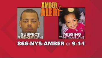 Missing Rochester toddler found safe, Amber Alert canceled