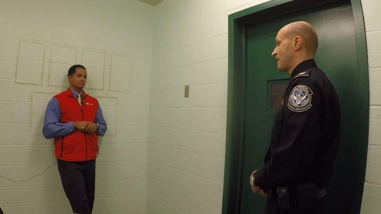 CBP officer Aaron Bowker