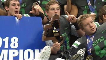 CSP Wins State Title, Beats Moriah 26-6