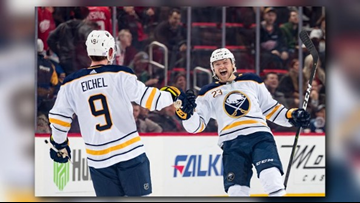 Sabres Win Ninth Straight, beat Detroit 3-2 in Shootout