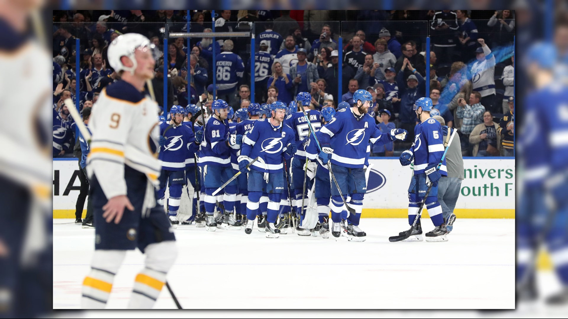 Sabres Win Streak Ends at Ten With 5-4 Loss to Lightning