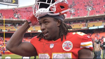 Chiefs RB Hunt put on NFL exempt list after video surfaces