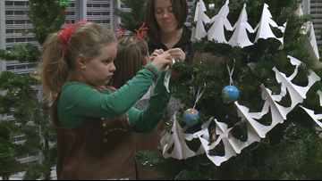 Girl Scouts' Festival of Trees donates over 100 trees to local families