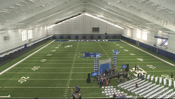 University at Buffalo celebrates grand opening of Murchie Family Fieldhouse