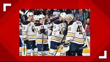 Sabres Hang On to Beat Columbus, 5-4