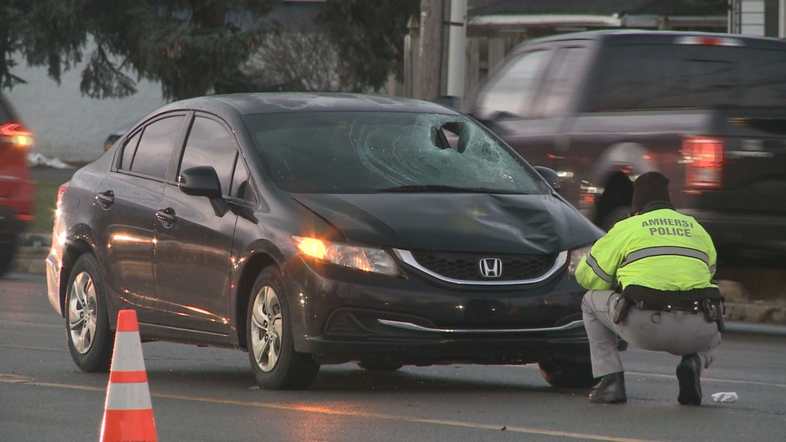 another pedestrian struck by a vehicle on niagara falls