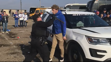 Deputy won't work Bills game after controversial arrest on camera