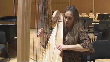 Bringing sounds of the harp to Buffalo Philharmonic Orchestra