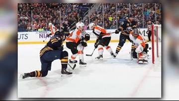 Sabres Slide Continues, Sunk 6-2 by Flyers