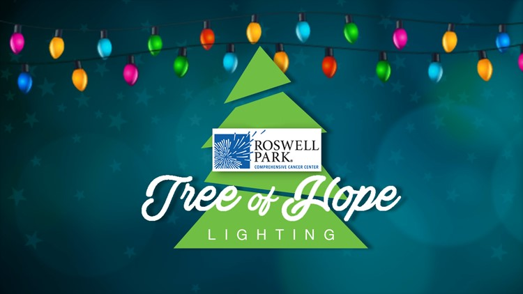 2018 Tree of Hope Lighting - Roswell Park Comprehensive Cancer Center