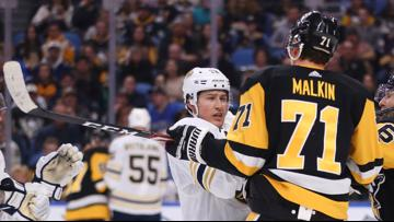 Sabres fall to Penguins, lose 5th straight overall