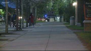 Buffalo State University Police investigate shots fired on campus