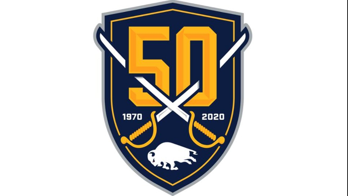 Buffalo Sabres unveil 50th Anniversary logo