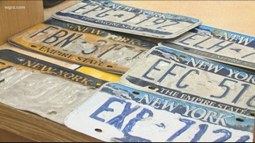 Gov. Cuomo responds to criticism about New York license plates