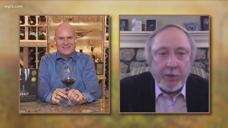 Kevin Zraly joins Kevin again to discuss aging Wines