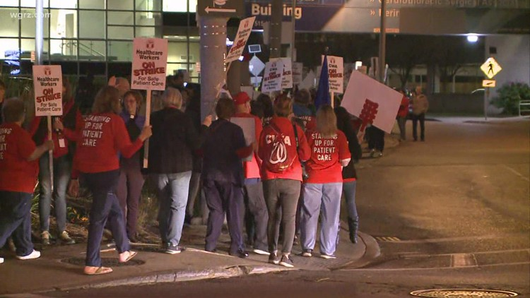 No deal reached after talks continued Tuesday, heading into day 6 of Mercy Hospital strike