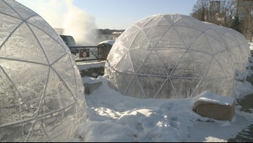 Igloo dining experience pops up in Niagara Falls, Ontario