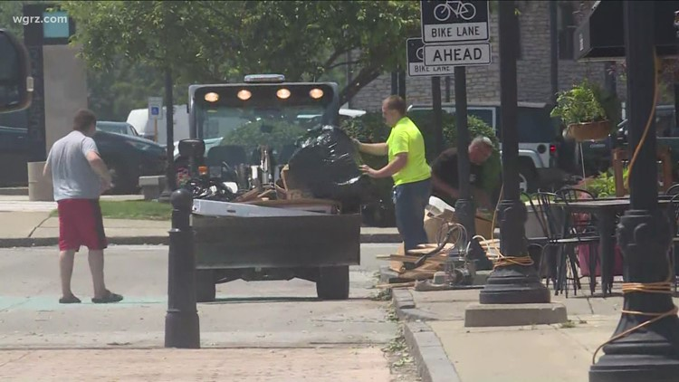 Niagara County cleans up, starts drying out from heavy rainfall