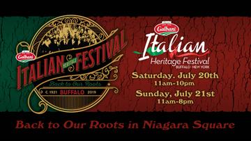 July 6 - Galbani Italian Heritage Festival