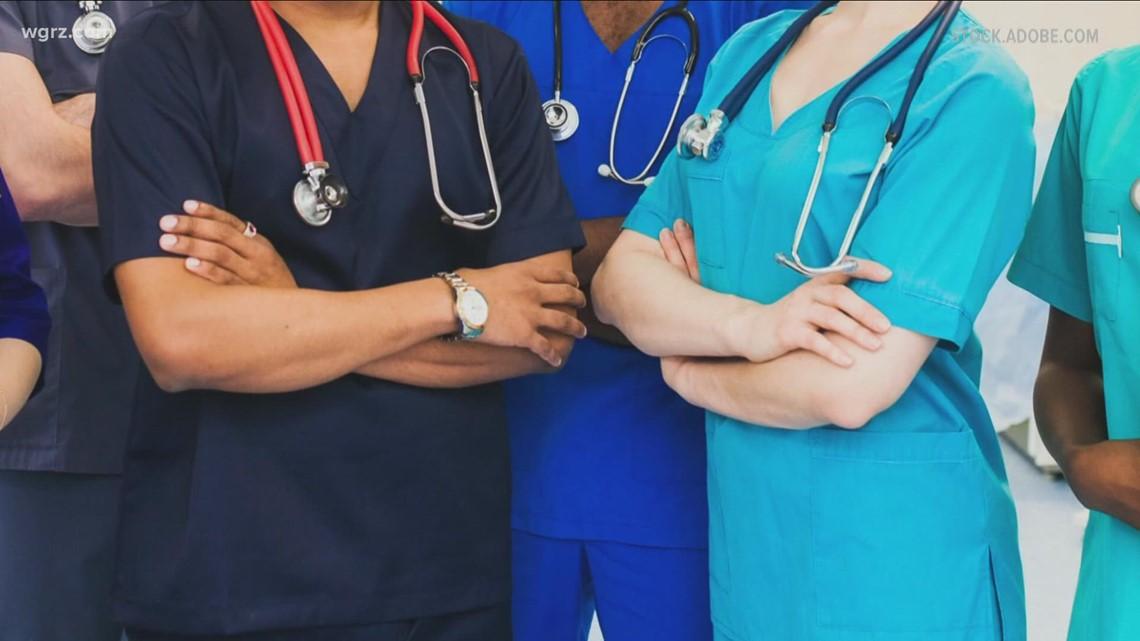 Some Hospitals Avoiding Firing Unvaxxed