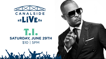 Rapper T.I. to perform at Canalside