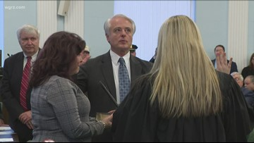 Niagara Falls Mayor Robert Restaino Sworn-In