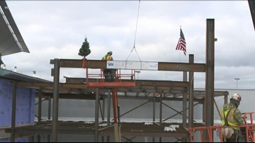 Highest Beam Put In Place For BNIA Expansion