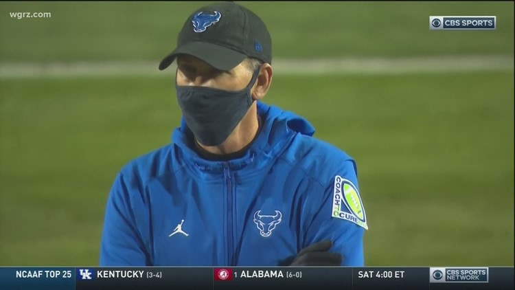 UB Football Coach Leipold Heads To Kansas