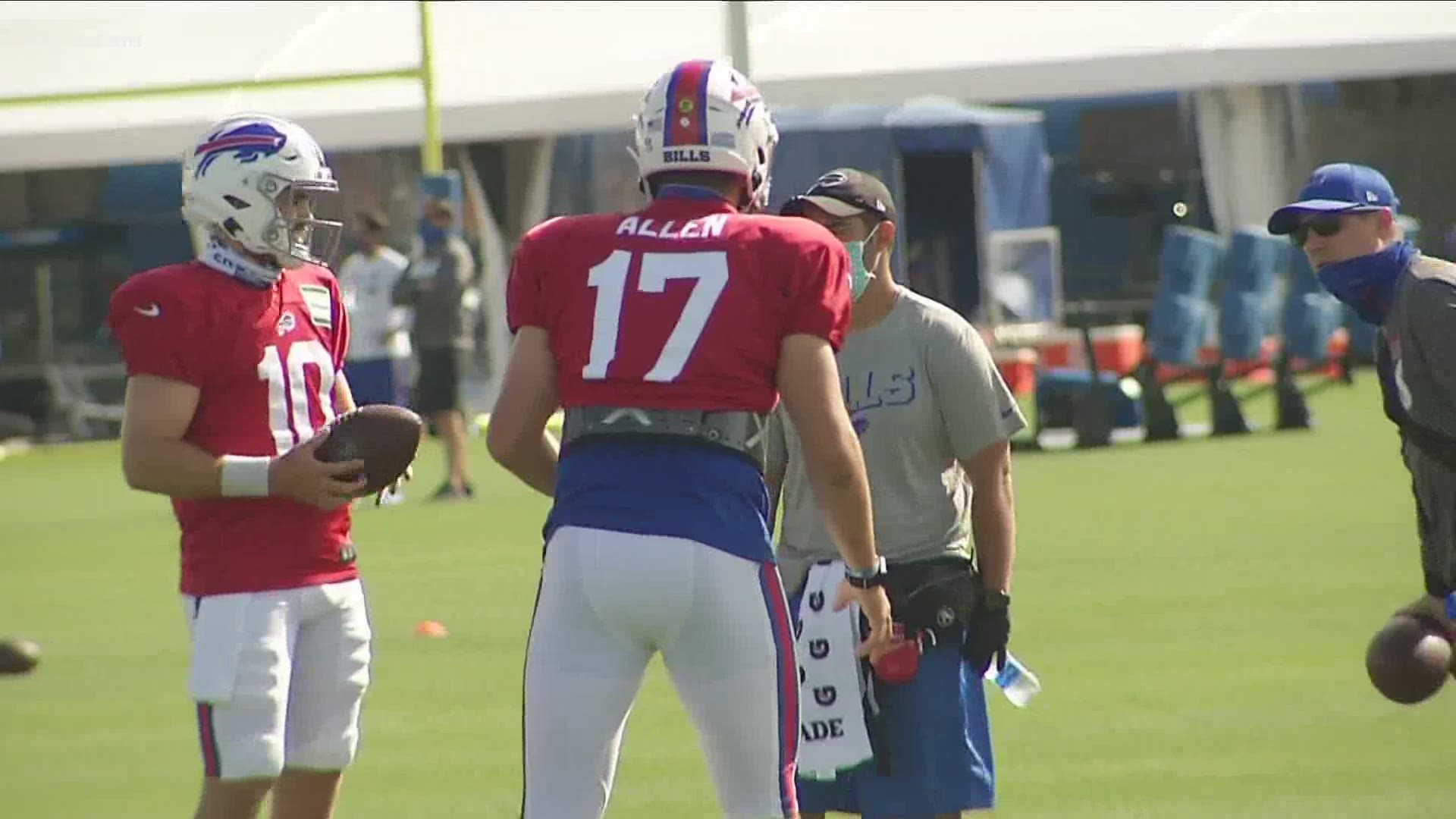 Josh Allen Named Afc Offensive Player Of The Month Wgrz Com