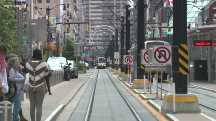 NFTA: Metro Rail back up and running between Lafayette Station and Erie Canal Harbor Station following underground fire